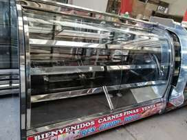 Congelador panorámico en acero mixta