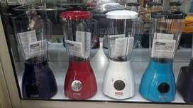 Licuadora samurái 550 watts plástica colores