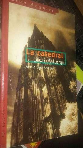 """Vendo libro usado de César Mallorquí """"La catedral"""""""