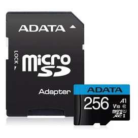 Tarjeta De Memoria Micro Sd 256gb 256g Adata 100mb/s Uhs