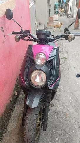 Moto bws usada en excelentes condiciones