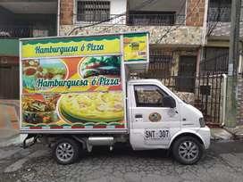 Conductor carro comidas.