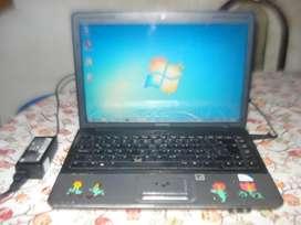 Notebook Compaq Cq40 Dob Nucleo Ram 2gb Hdmi Exc Funcionamie