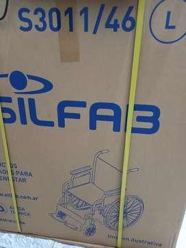CIBER MONDAY Vendo silla de ruedas NUEVA EN CAJA s3011/46