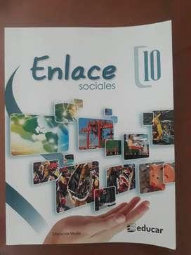 Libro Enlace 10 Ed. Educar