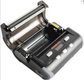 Impresora térmica bluetooth recargable de 104mm para etiquetas adhesivas