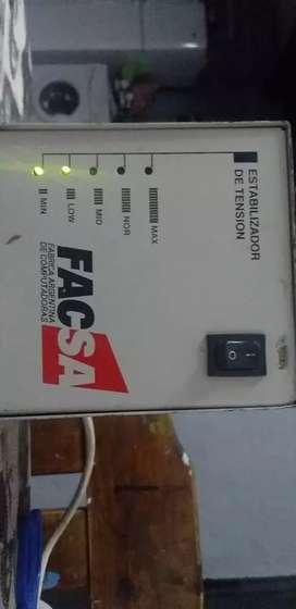 Estabilizador de tensión 220v