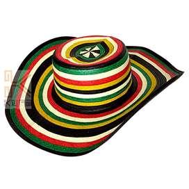 Sombrero costeño tejido en caña flecha