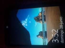 tablet con 3 meses de uso en excelente condiciones