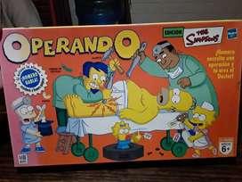 Juego OPERANDO a Homero The Simpsons (Hasbro)