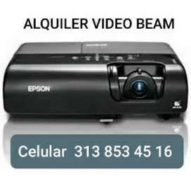 Alquiler video beam