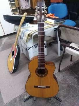 Guitarra de corte por luthier Rebaza nueva