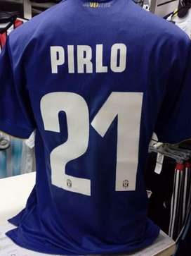 Camiseta juventus azul pirlo 21