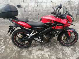 Vendo moto pulsar AS 200 único dueño