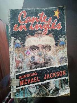 Antiguo cancionero Michael Jackson en ingles