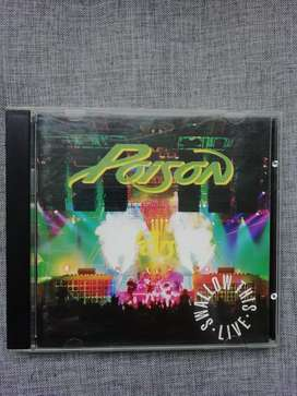 "CD Poison ""smallow this live"" 1991"