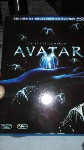 Vendo blue Ray / avatar / edición de colección / 3 blue Ray / en español