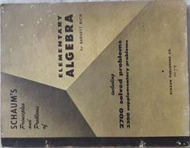 Principles and Problems of Elementary Algebra Barnett Rich