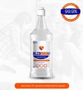 Alcomax 70% / Jabon Liquido