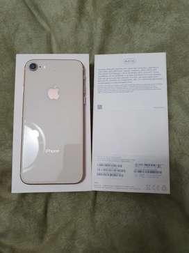 Iphone 8 Rose Gold 64 gb Liberado Impecable con accesorios originales