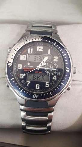 Reloj Citizen Footalltimer Worldtime