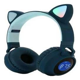 Audifonos orejas de gato