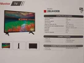 MONITOR LG 28LK430B- 28 PULGADAS, CON ANTENA TV, HDMI,USB,AUDIO.