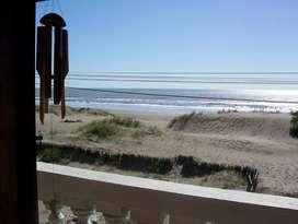 Part triplex frente al mar Mar del Tuyu 10 pax,