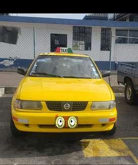 Venta de taxis  nissan en buen estado  mecánico con derecho y acciones cualquier prueba 17.000 negociables