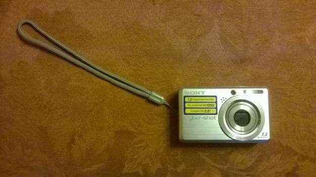 Camara Sony Cybershot 7.2 Megapixeles 0
