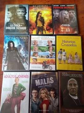 Películas en DVD originales, nuevas y selladas ACCIÓN - COMEDIA - ROMANCE - DRAMA etc
