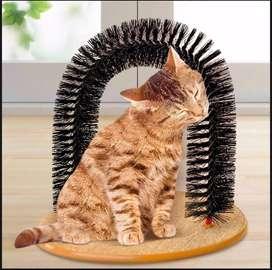 Arco Rascador Para Gatos + Obsequio