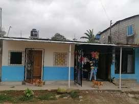 Se vende oportunidad 2 casas completas con baños dos departamentos con baños uno con plan para negocio
