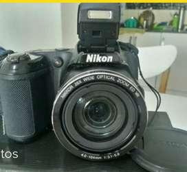 Camara Nikon L810 Como Nueva