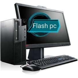 Oferta  Core I3 Completo con monitor 19 garantía 6 meses