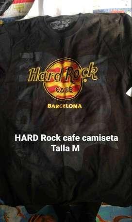 CAMISETA HARD ROCK ORIGINAL TALLA M