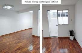 SE ALQUILA OFICINA EN PRIMER PISO AT.31 m2 - SAN ISIDRO