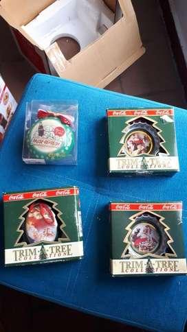 Adornos Arbol de Navidad Cocacola