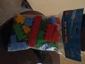 Blokes de plasticos