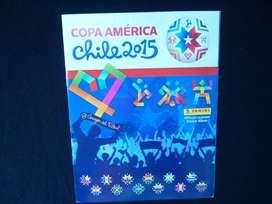 Álbum Panini Copa América Chile 2015 incompleto