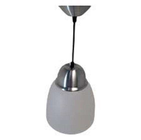 Lampara Colgante Aluminio 25Cm. Transparente Art. 332 Faroluz 0