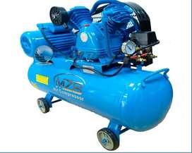 Compresor De Aire 110v 3hp  70lts/ Marca MZB nuevo con garantia