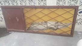 Puerta hierro 2metros × 80cm