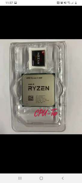 Ryzen 5 3600 nuevo sin Disipador