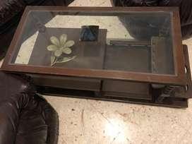 Vendo mesa de living de vidrio