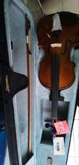 Violines cremona sv75 4/4.colores negro, café y fuccia