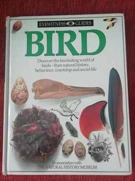 LIBRO BIRD. Impecable como Nuevo sobre Pájaros