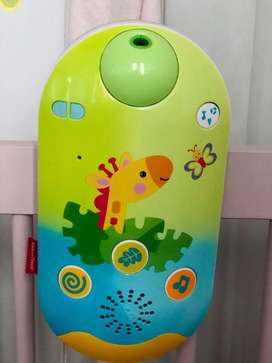 Movil para cuna fisher price más proyector musical