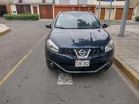 Vendo Nissan qashqai  4 x 4 full equipo versión Tekna modelo 2013 ,