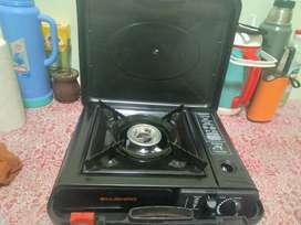 Cocina a gas butano